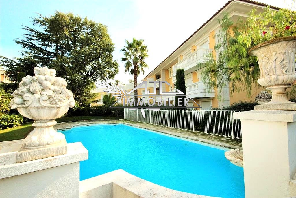 CANNES CALIFORNIE APPARTEMENT 4 PIECES RESIDENCE STANDING PISCINE CALME VUE MER